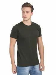 Fashion 100% Cotton Cheap Men's Custom Printed Round Neck Men T Shirt