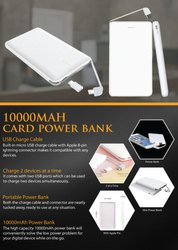 10000MAH Card Power Bank - Giftana