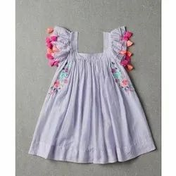 Kids Embroidered Frock