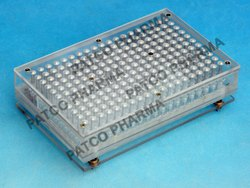 Capsule Filling Tray 209 holes Acrylic