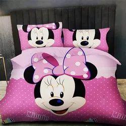 Barbie Design Double Bedsheet