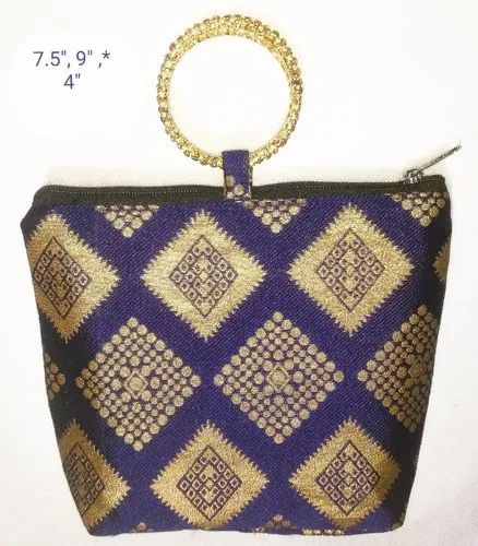 Bangle Handled Tamboola Bag