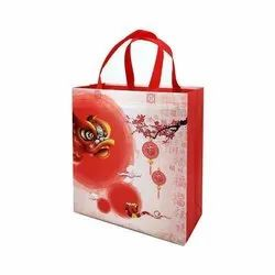 Paper Handled Printed Carry Bags, For Shopping