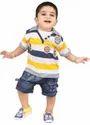 Baby Boy Striped Summer Dress
