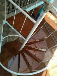 Glass Spiral Staircase for Hotels