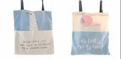 AA Canvas Organic Cotton Tote Bag, Capacity: 11 Kg