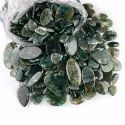 Natural Moss Agate Cabochon Gemstone