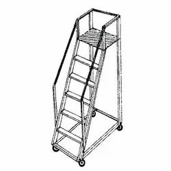 Alu. Trolley Step Ladder