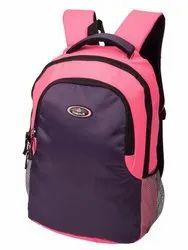 Girls Polyester Laptop Backpack