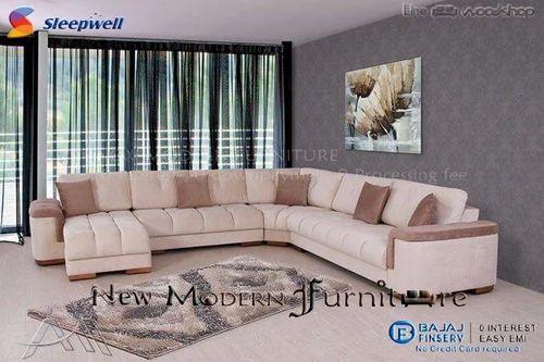 Italian Corner Sleeepwell Sofa Set At