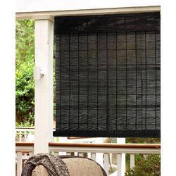 Royal Decors Black Bamboo Roll Up Blind, for Home, Size: 4x2, 4x3 Ft