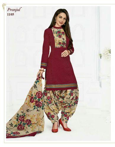 b793271b803c Cotton Patiyala Salwar Suits, Rs 350 /piece, Khushbu Textile | ID ...