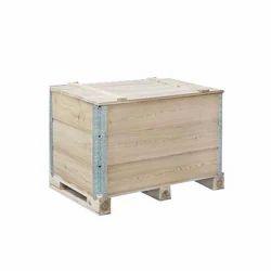 Wooden Seasoning Pallet Box