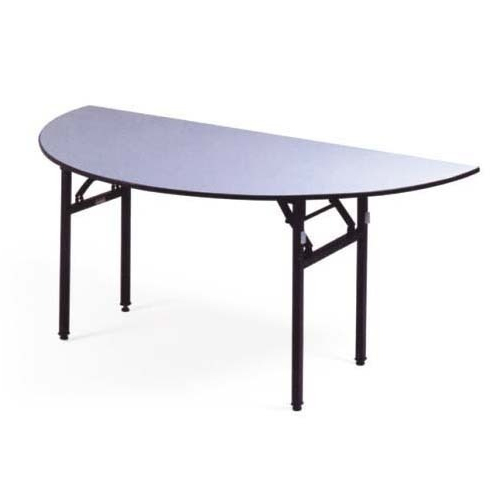 Grey Half Round Folding Table Size 4 5 And 6 Feet Rs 5400 Piece Id 9143891988