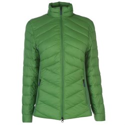 Full Sleeve Plain Ladies Green Polyester Jacket, Size: M-3XL