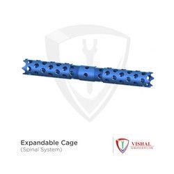 Titanium Expandable Cage