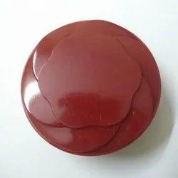 Balaji Plastics Plastic Round Jewelry Box