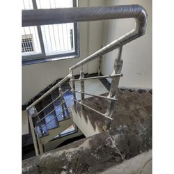 ssa SS Stainless Steel Staircase Railing, for Home