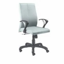 Medium Back White Executive Chair