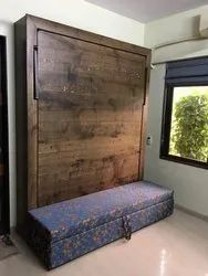Wooden Wall Bed