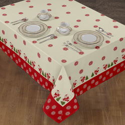 Christmas Cotton Tablecloth
