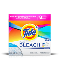Tide Plus Bleach Powder