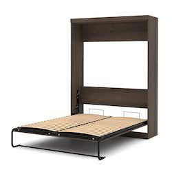 78x 60 Inch Brown Murphy Bed Frame