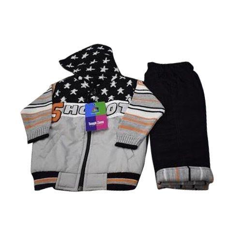 aee21786214b Baby Boy Full Sleeve Hooded Jacket Set
