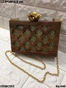 Beautiful Wooden Box Clutches