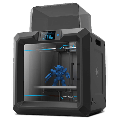 flashforge guider 2 3d printer, fused filament fabrication 3d ...