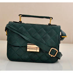 Synthetic Leather Green Hanging Bag 5c0951aaca5e6