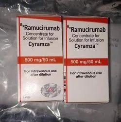 Cyramza Ramucirumab Concentrate For Solution For Infusion, Prescription