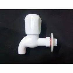 Pragnya PVC Bib Cock, For Wash Basin, Size: 15 Mm