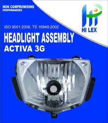 Hilex Activa 3G Head Light Assembly