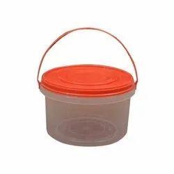 Taka Tak圆形2800ml塑料食品包装容器