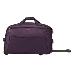 Sonnet Red Rolling Duffle Trolley Bag f24456d6a9a57
