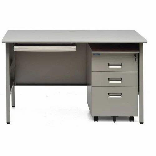 Iron Office Table