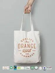 Bio Cotton Canvas Beach Bag