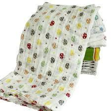 Printed Organic Cotton Certified Baby Swaddles