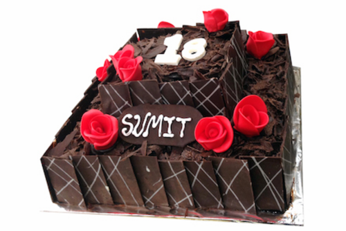 Two Tiered Chocolate Cake At Rs 1100 Kilogram Chocolate Cake