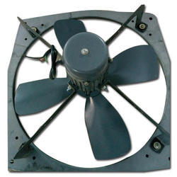 Dark Grey Stainless Steel Exhaust Fan, Usage: Commercial
