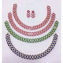 Hydro Multi Colour Stones Necklace