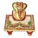 Marble Ganesh Chowki