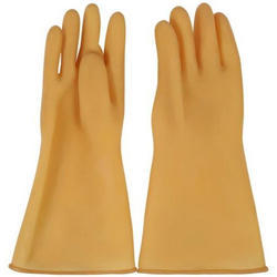 Rubber Electrical Safety Gloves For Construction