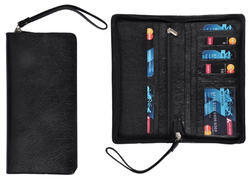 Sai Enterprises Black Passport Holder, Size/Dimension: Standard