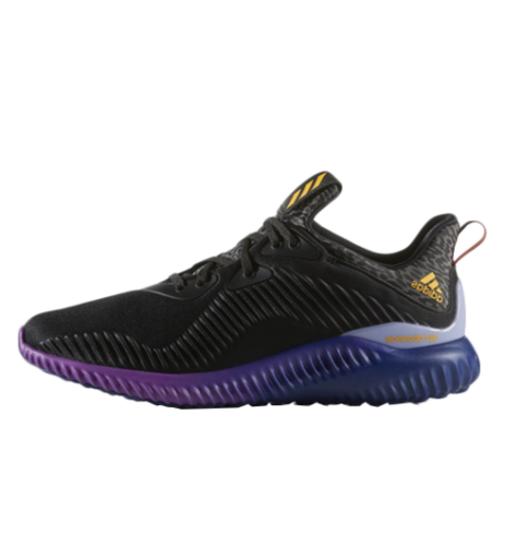 premium selection 5c627 f2ebd Adidas Alpha Bounce Purple Blue Shoes