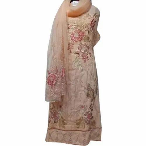 Senzarah Party wear Ladies Unstitched Patiala Suits