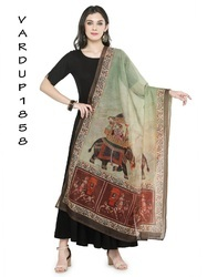 Jute Silk Fancy Dupattas