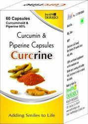 Curcumin And Piperine Capsules, Grade Standard: Food Grade