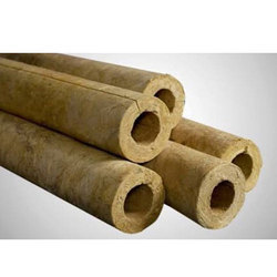 Rock Wool Pipe Section